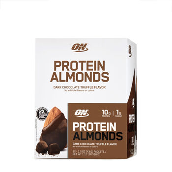 Protein Almonds - Dark Chocolate Truffle FlavorDark Chocolate Truffle Flavor | GNC