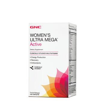 Gnc Women S Ultra Mega Active Multivitamin 180ct Workout