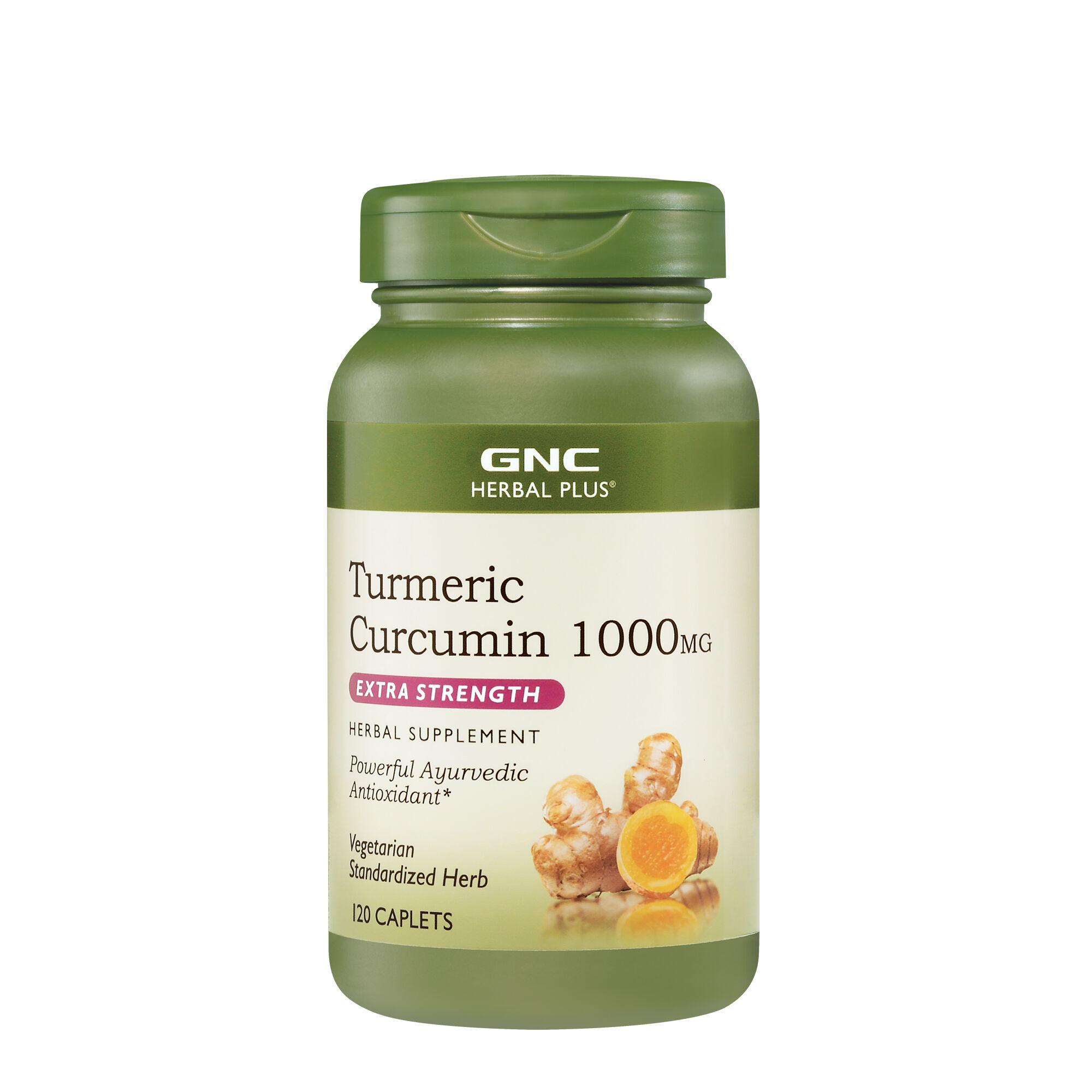 GNC Herbal Plus® Turmeric Curcumin 1000 MG Extra Strength