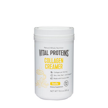 Collagen Creamer - Vanilla | GNC