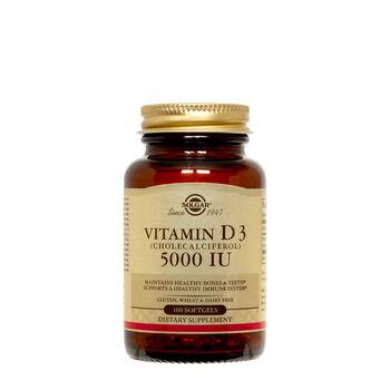 Vitamin D3 (Cholecalciferol) 125 mcg (5000 IU)   GNC