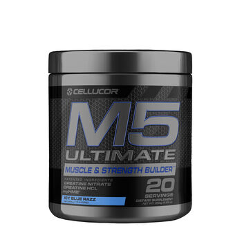 Cellucor® M5® Ultimate – Icy Blue Razz (20 Servings) | GNC