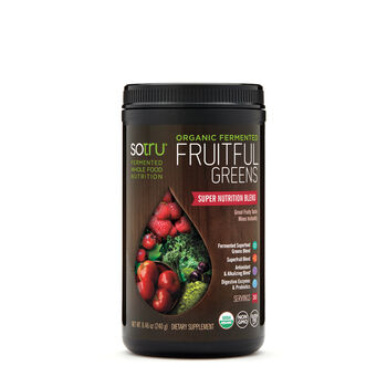 Organic Fermented Fruitful Greens   GNC
