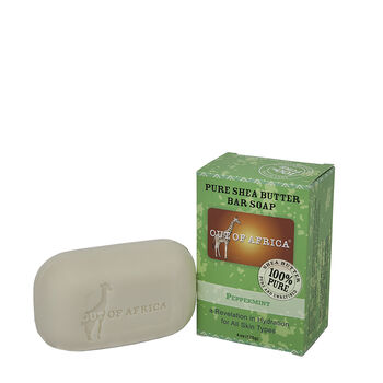 Pure Shea Butter Bar Soap - Peppermint | GNC