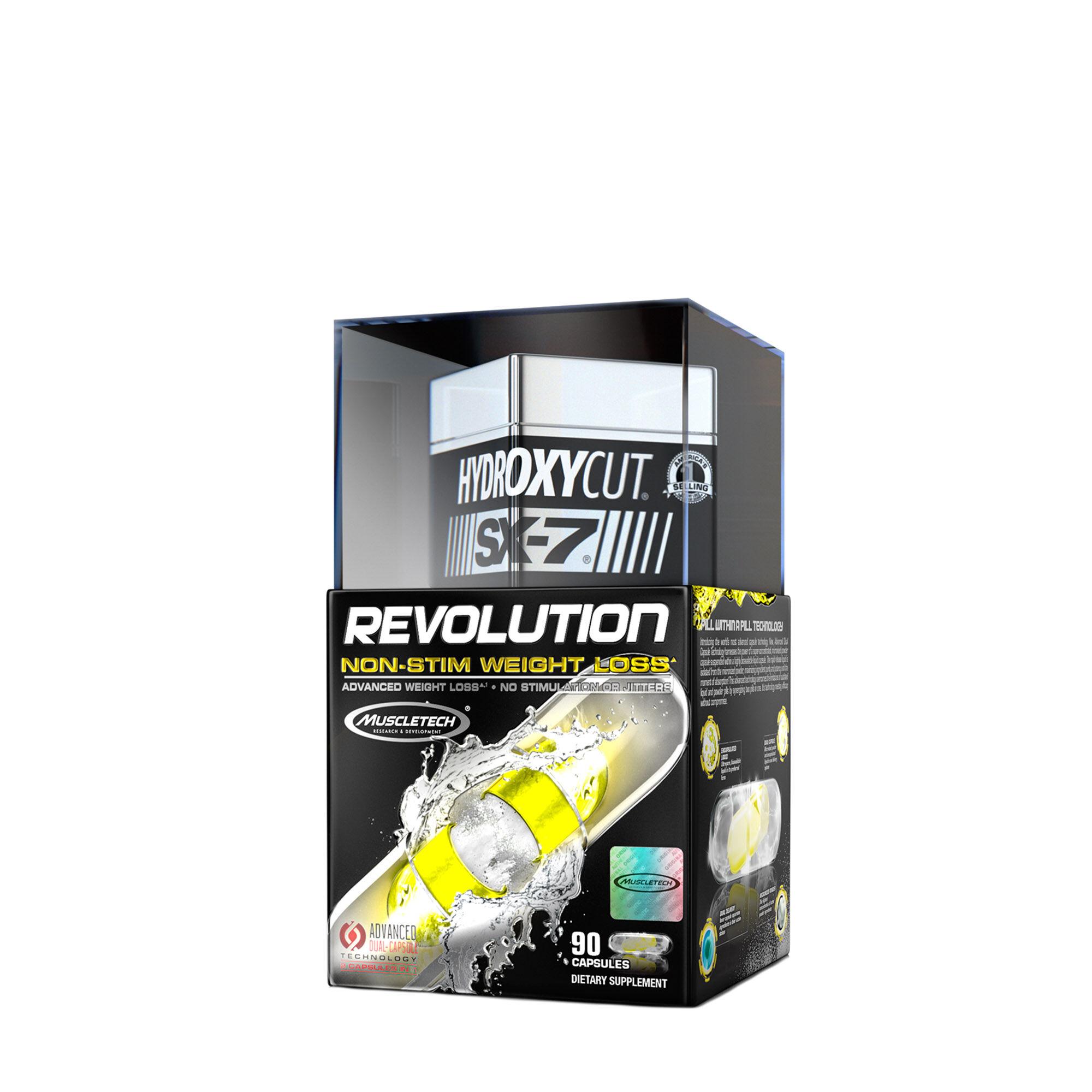 Muscletech Hydroxycut Sx 7 Revolution Non Stim