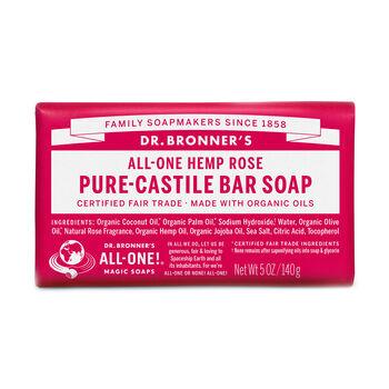 All-One Hemp Rose Pure-Castile Bar Soap | GNC