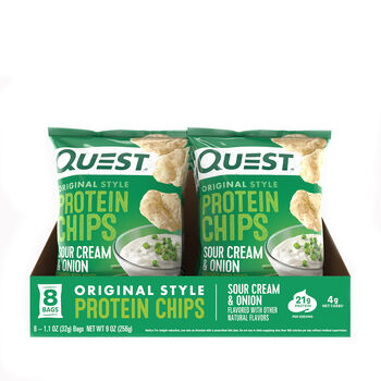 Protein Chips - Sour Cream and OnionSour Cream and Onion | GNC