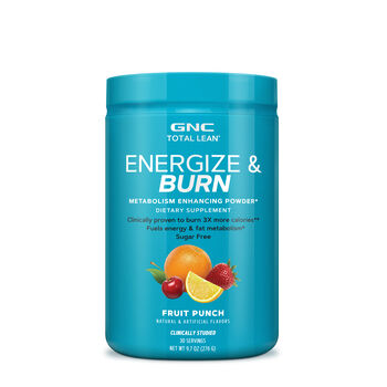 Energize and Burn - Fruit Punch | GNC