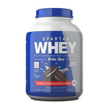Spartan Whey - Double Stuffed Cookies and CreamDouble Stuffed Cookies and Cream | GNC