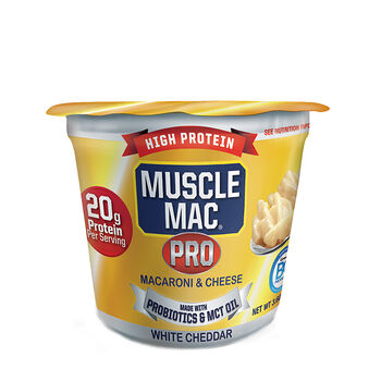 Pro Macaroni and Cheese - White Cheddar | GNC