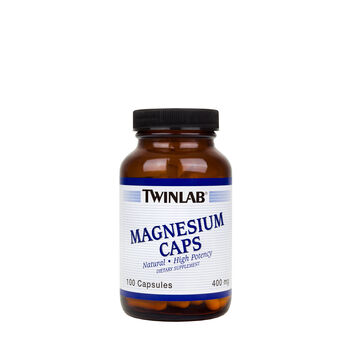 Magnesium Caps High Potency 400 mg | GNC