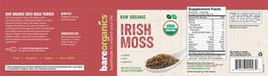 BareOrganics® Irish Moss Powder   GNC