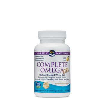 Complete™ Omega Xtra - Lemon | GNC