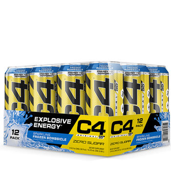 C4® On The Go Preworkout Explosive Energy  - Sparkling Frozen BombsicleSparkling Frozen Bombsicle | GNC