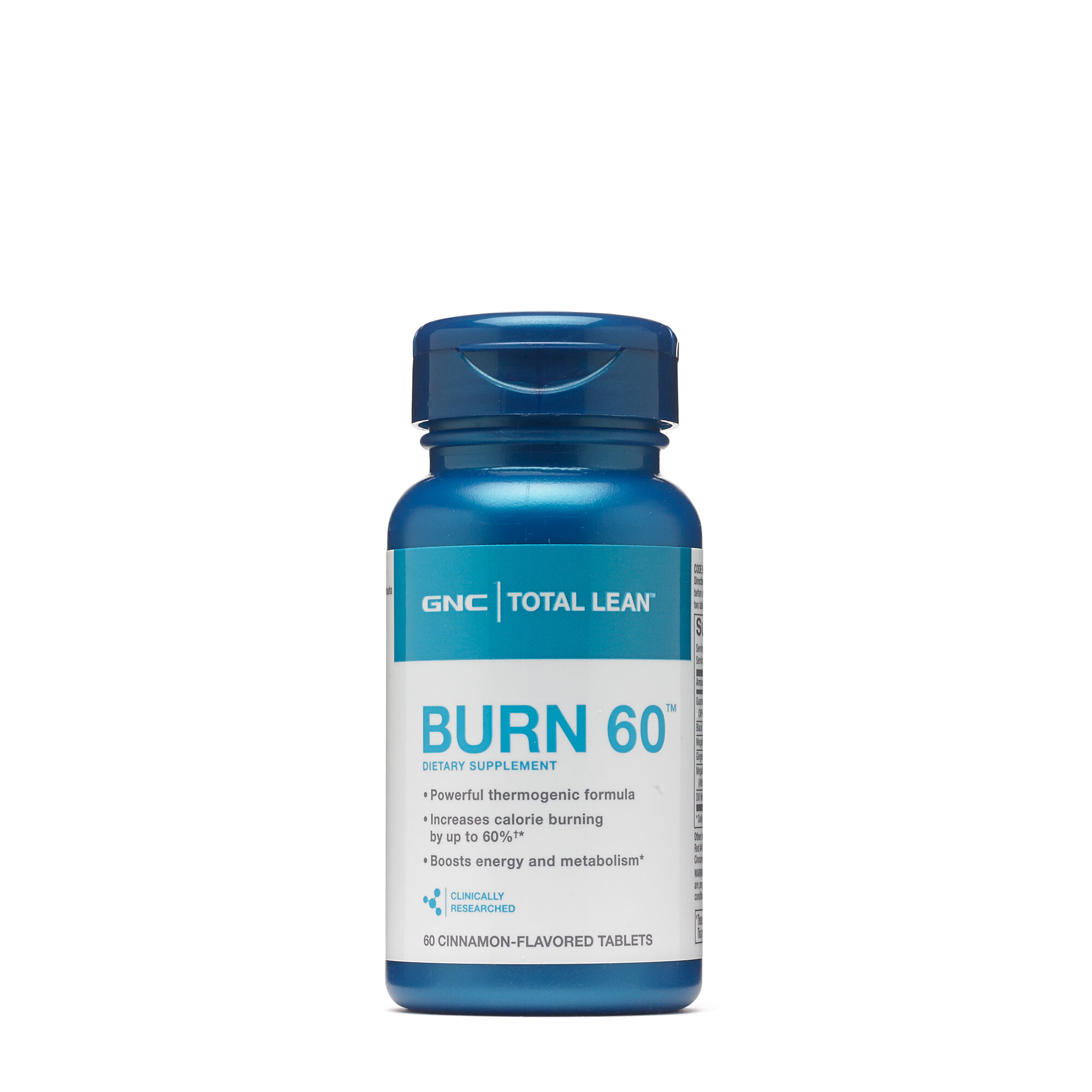 BOGO 50% off GNC Total Lean Burn 60 - Cinnamon Flavored