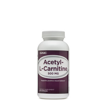 Acetyl-L-Carnitine 500 mg   GNC