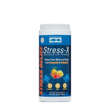 Stress-X Magnesium Powder - Raspberry LemonRaspberry Lemon | GNC