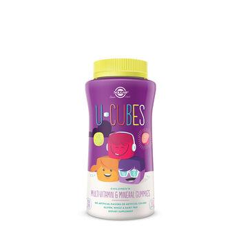 U-Cubes Children's Multivitamin and Mineral Gummies | GNC