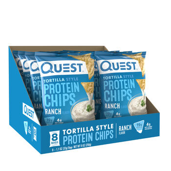 Tortilla Style Protein Chips - RanchRanch | GNC