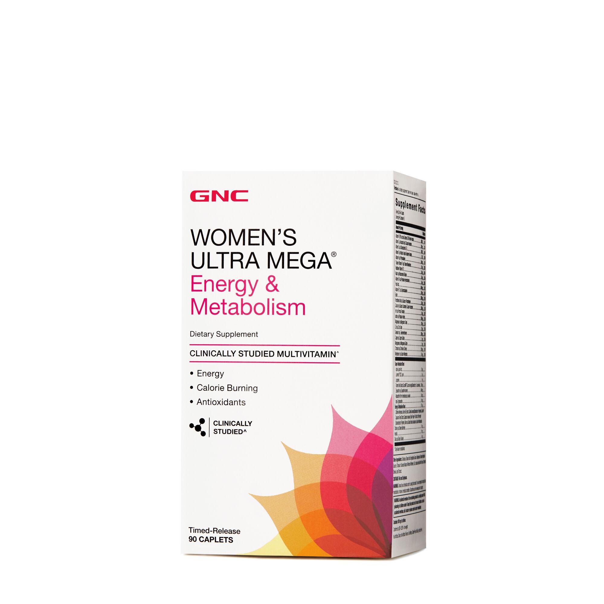 GNC Women's Ultra Mega® Energy & Metabolism