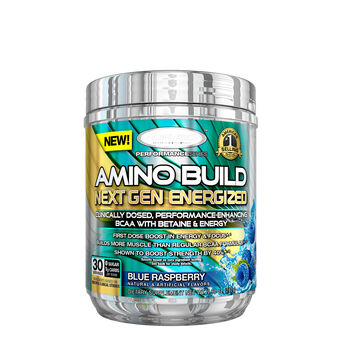 AMINO BUILD® NEXT GEN ENERGIZED - Blue RaspberryBlue Raspberry | GNC