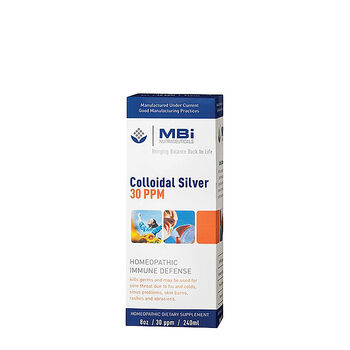 MBi Nutraceuticals Colloidal Silver | GNC