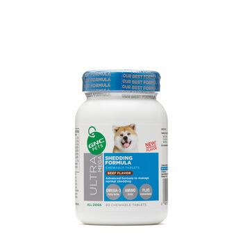 Ultra Mega Shedding Formula - All Dogs - Beef Flavor | GNC