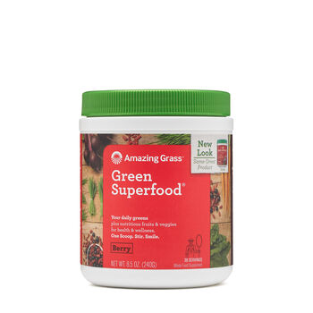Green SuperFood® Berry Flavor Drink PowderBerry | GNC