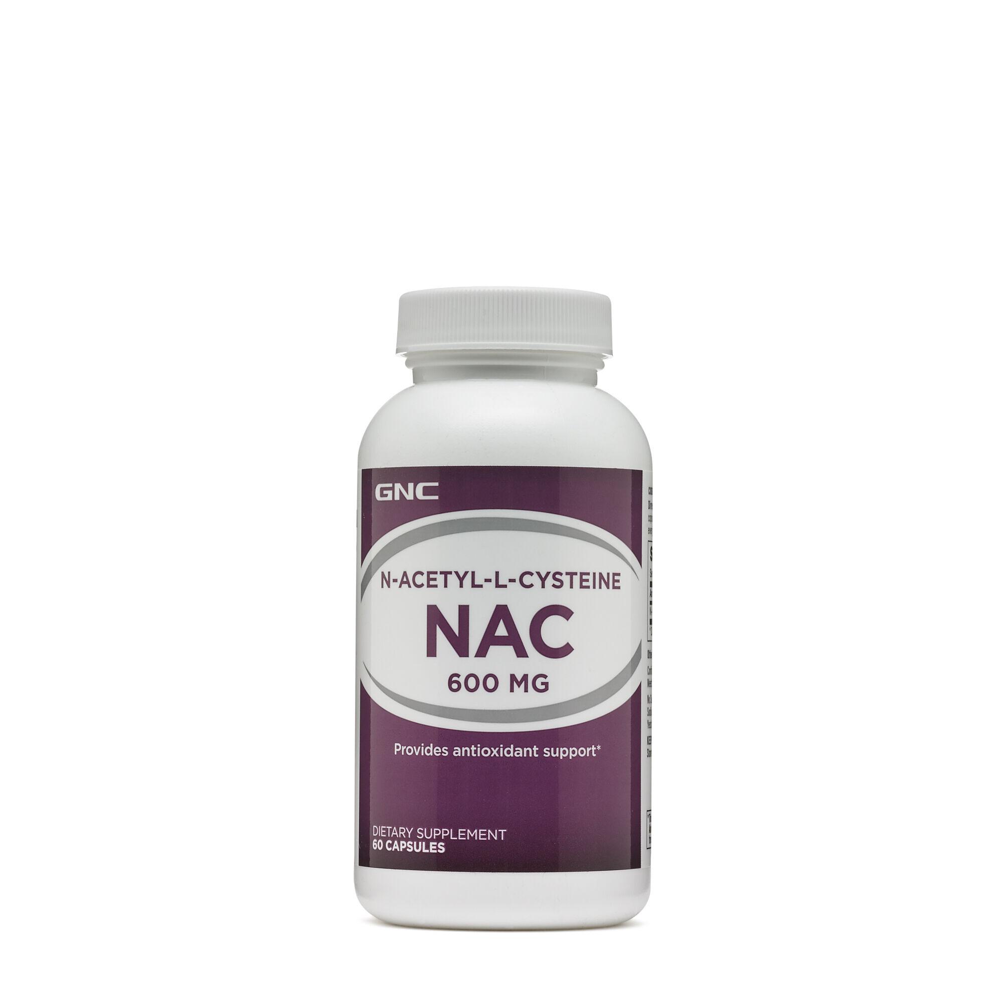 GNC N-Acetyl-L-Cysteine NAC 600 mg
