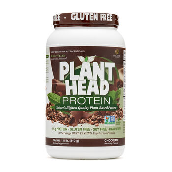 Plant Head™ Protein - ChocolateChocolate | GNC