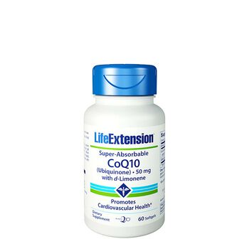 Super-Absorbable CoQ10 50 mg | GNC