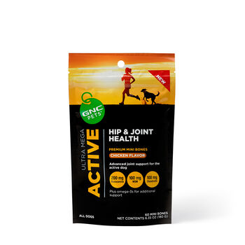 GNC Pets Ultra Mega Active - Hip & Joint Health - Chicken Flavor