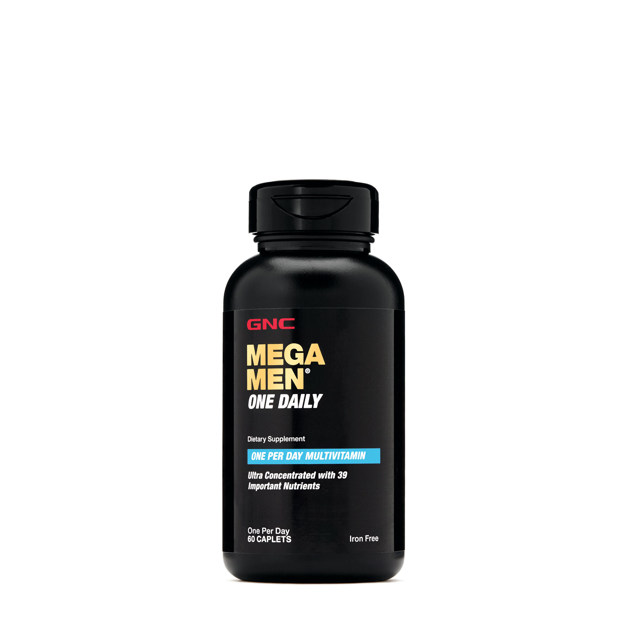 Mega Men� One Daily - 60 Caplets - GNC - Mega Men Multivitamins