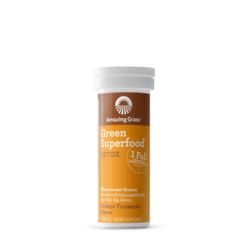 Green Superfood® Detox Tablets - Orange Turmeric | GNC