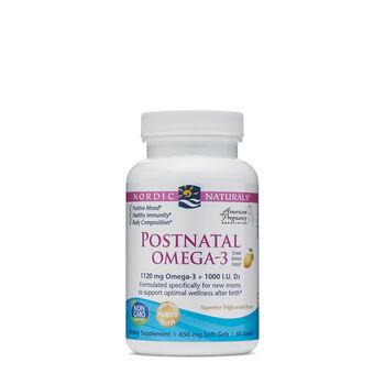 Postnatal Omega-3 - Lemon | GNC
