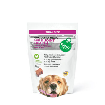Ultra Mega Hip & Joint Health for All Dogs - Yummy Chicken Flavor - TRIAL SIZE | GNC
