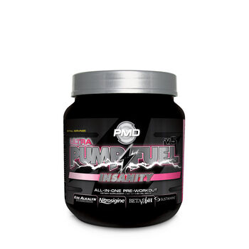 Pump Fuel® Insanity Ultra - Electric Pink LemonadeElectric Pink Lemonade | GNC