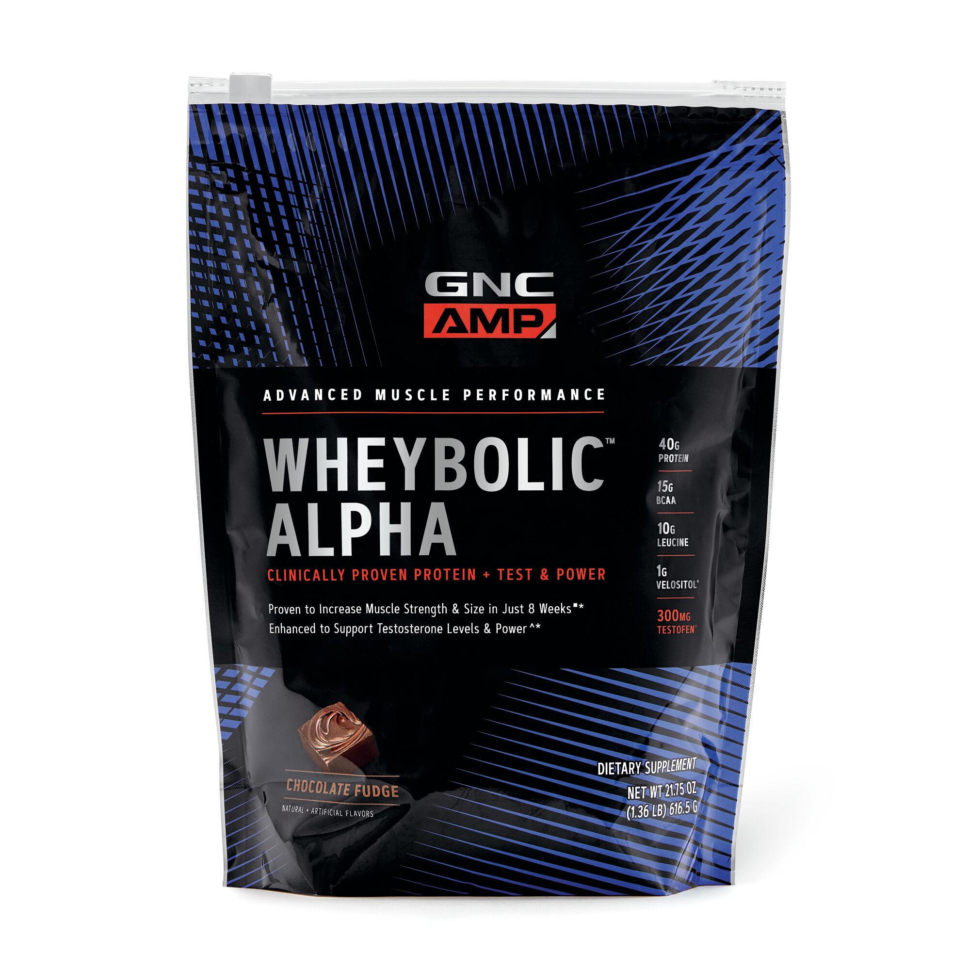 GNC AMP Wheybolic™ Alpha