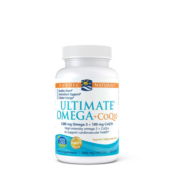 Ultimate® Omega + CoQ10 | GNC