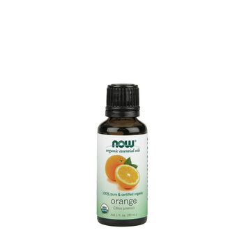 100% Pure & Certified Organic Orange | GNC