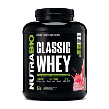 Classic Whey - StrawberryStrawberry | GNC