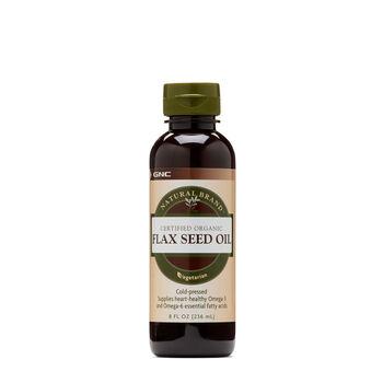 Certified Organic Flax Seed Oil | GNC