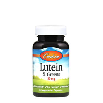 Lutein & Greens - 20 mg | GNC