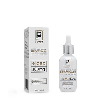 Reactive Leave-In Scalp Treatment with Pure CBD Isolate | GNC