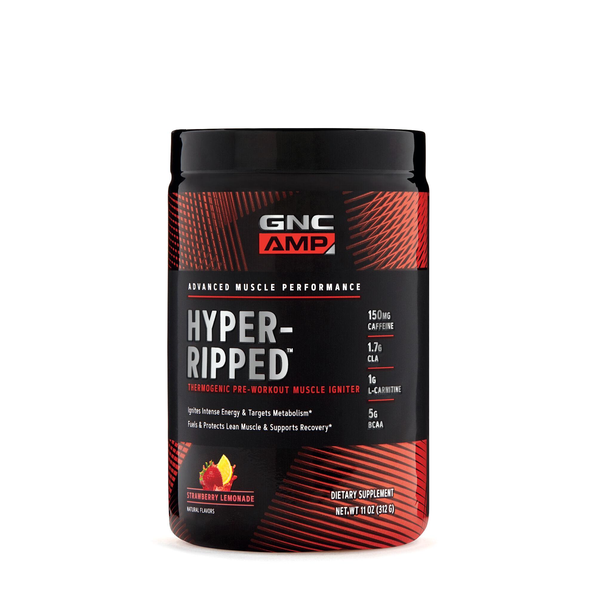 GNC AMP Hyper-Ripped