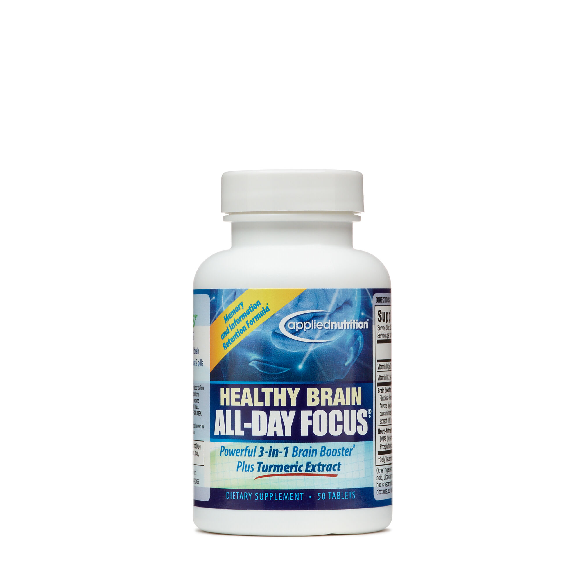 Applied Nutrition® Healthy Brain All-Day Focus™