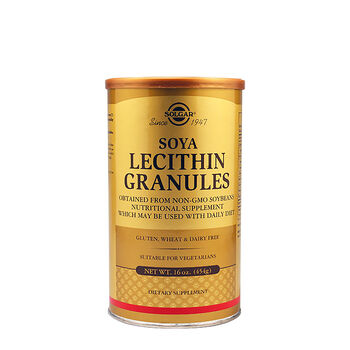 Soy Lecithin Granules   GNC