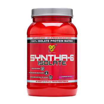 SYNTHA-6™ ISOLATE – Strawberry MilkshakeStrawberry Milkshake | GNC