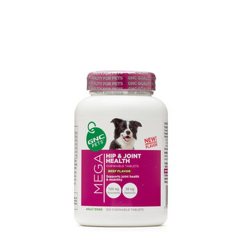 Mega Hip & Joint Health - Adult Dogs - Beef FlavorBeef Flavor | GNC