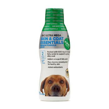 Ultra Mega Skin & Coat Essentials for Adult Dogs Liquid - Beef Flavor   GNC